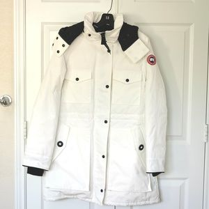 Canada Goose Gabriola Hooded Parka Coat North Star